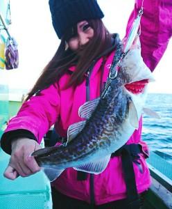 釣魚真鱈で真鱈とポテトのチーズ焼き