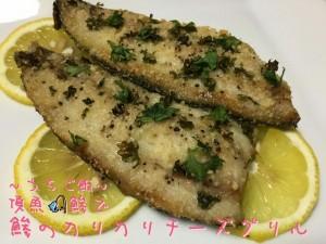 頂魚鯵で🎣鯵のカリカリチーズグリル